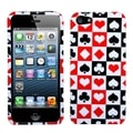 BasAcc Card Suits Phone Protector Case for Apple iPhone 5