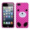 BasAcc Dog Love Phone Protector Case for Apple iPhone 5