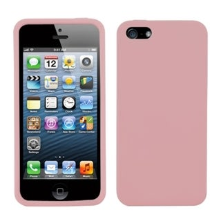 BasAcc Pink Solid Skin Case for Apple iPhone 5