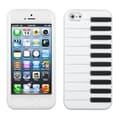 BasAcc White Piano Pastel Skin Case for Apple iPhone 5