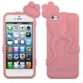BasAcc Pink Frog Peeking Pets Skin Case for Apple iPhone 5