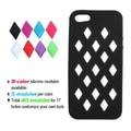 BasAcc Black Module Skin Case for Apple iPhone 5