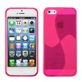 BasAcc Pink Windmill Candy Skin Case for Apple iPhone 5