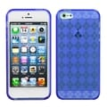 BasAcc Dark Blue Argyle Candy Skin Case for Apple iPhone 5