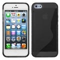 BasAcc Smoke S Shape Candy Skin Case for Apple iPhone 5