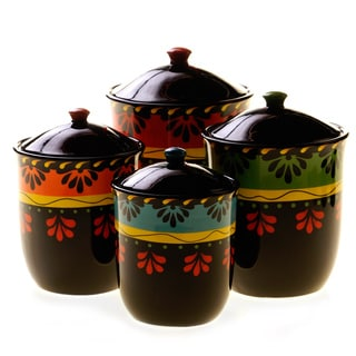 Certified International Mi Casa 4-Piece Canister Set
