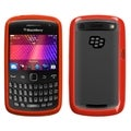 BasAcc Transparent Clear/ Red Case for Blackberry 9360/ 9350/ 9370