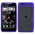 BasAcc Clear/ Purple Case for Motorola XT912M Droid Razr Maxx