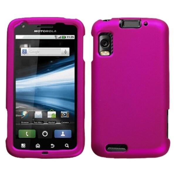 BasAcc Titanium Hot Pink Case for Motorola MB860 Olympus/ Atrix 4G