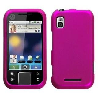 INSTEN Titanium Hot Pink Phone Case Cover for Motorola MB508 Flipside