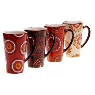 Certified International Cup of Joe Latte Mug (Set of 4)