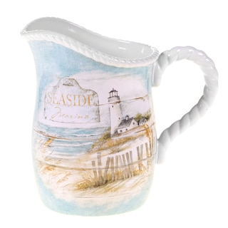 Certified International Beach Cottage Pitcher