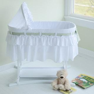 Good Night Baby Bassinet in White