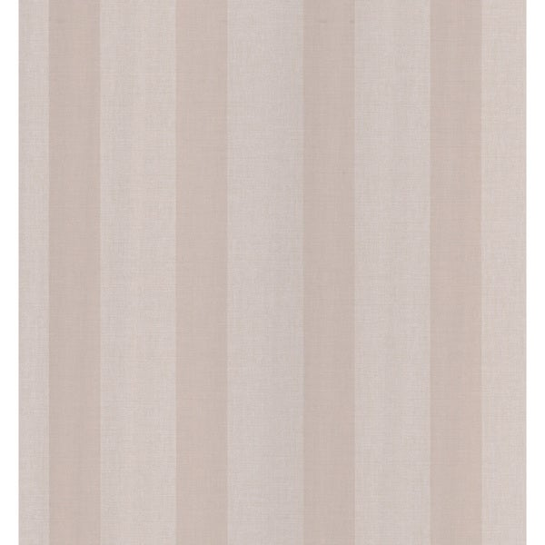 Brewster Taupe Linen Stripe Wallpaper