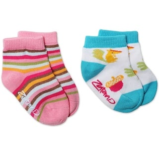 Zutano Cupcake Socks (Pack of 2)