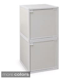 Way Basics zBoard Storage Cabinet (Set of 2)