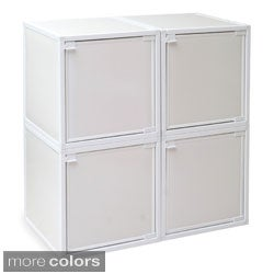 Way Basics zBoard Storage Cabinets (Set of 4)