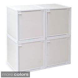Way Basics zBoard Storage Cabinets (Set of 4)