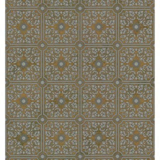 Brewster Grey Vintage Tiles Wallpaper