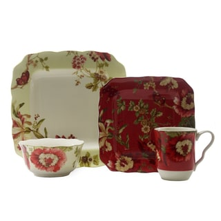 222 Fifth Lutece Square 16-piece Dinnerware Set