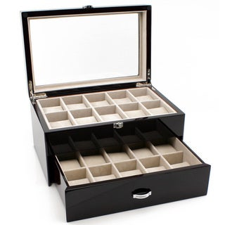 Heiden Premier Cherrywood Watch Box (20 watches)