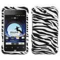 BasAcc Zebra Skin Case for ZTE X500 Score