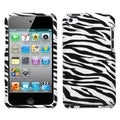 BasAcc Zebra Skin Case for Apple iPod Touch 4
