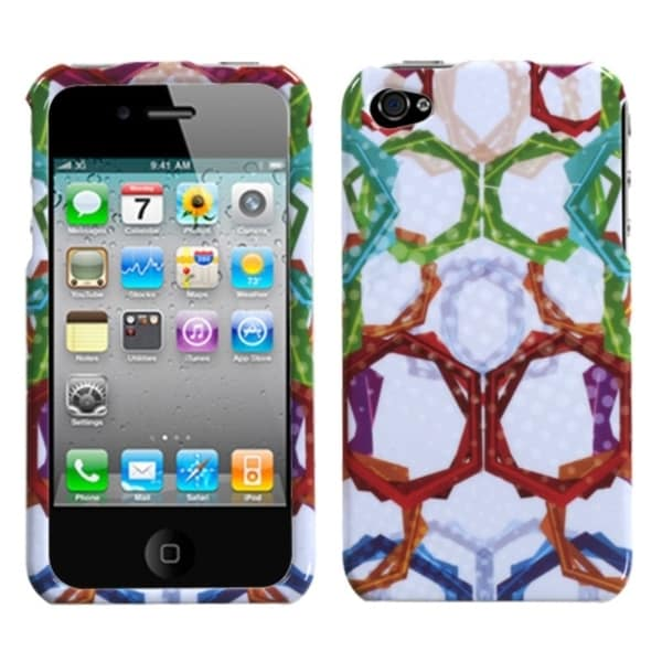 INSTEN Winter Rings Phone Case Cover for Apple iPhone 4/ 4S