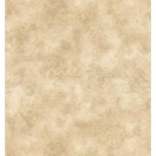 Brewster Beige Script Score Texture Wallpaper