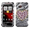 BasAcc Playful Leopard Diamond Case for HTC ADR6410 Incredible 4G LTE