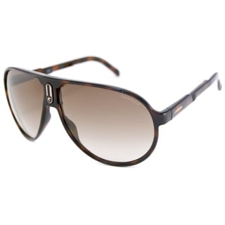 Carrera Champion Fold Men's Tortoise/Brown Gradient Aviator Sunglasses