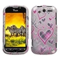 BasAcc Plaid Heart Phone Case for HTC myTouch 4G
