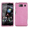 BasAcc Pink Diamante Case for Motorola XT926W Droid Razr HD