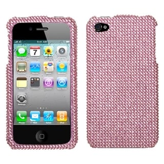 BasAcc Pink Diamante Case for Apple iPhone 4S/ 4