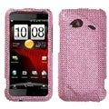 BasAcc Pink Diamante Case for HTC ADR6410 Incredible 4G LTE