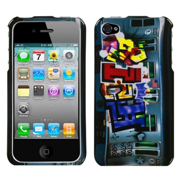 INSTEN Money Talks Phone Case Cover for Apple iPhone 4S/ 4