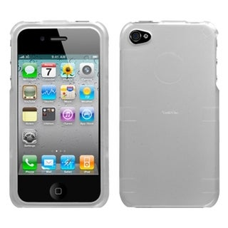 INSTEN Lizzo/ Silver Phone Case Cover for Apple iPhone 4S/ 4