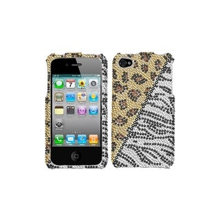 BasAcc Hottie Diamante Phone Case for Apple iPhone 4S/ 4
