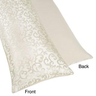 Sweet JoJo Designs Victoria Full-length Double Zippered Body Pillowcase Cover