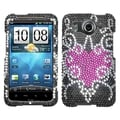 BasAcc Trapped Heart Diamante Case for HTC Inspire 4G