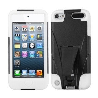 BasAcc White Armor Case with Stand for Apple iPod Touch 5