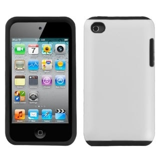 INSTEN White Fusion Rubberized iPod Case Cover for Apple iPod Touch 4