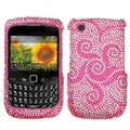 BasAcc Whirl Flower Case for Blackberry 8520/ 8530/ 9300 3G/ 9330 3G