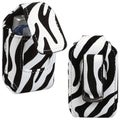 BasAcc Extra Small Zebra Skin Vertical Pouch-Style Case for ZTE Z221