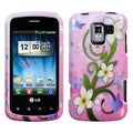 BasAcc Tropical Flowers Case for LG VS700 Enlighten/ VM701/ LS700
