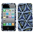 BasAcc Triangular Mosaic Casefor Apple iPhone 4S/4