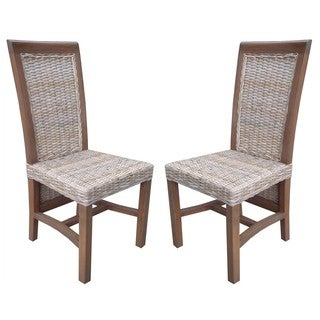 Rattan Living Balero Dining Chairs (Set of 2)