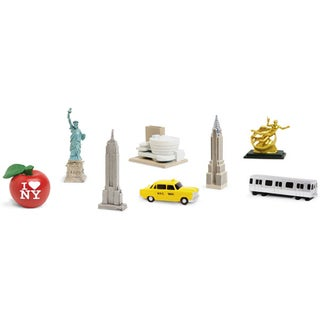 Plastic Miniatures In Toobs-New York City