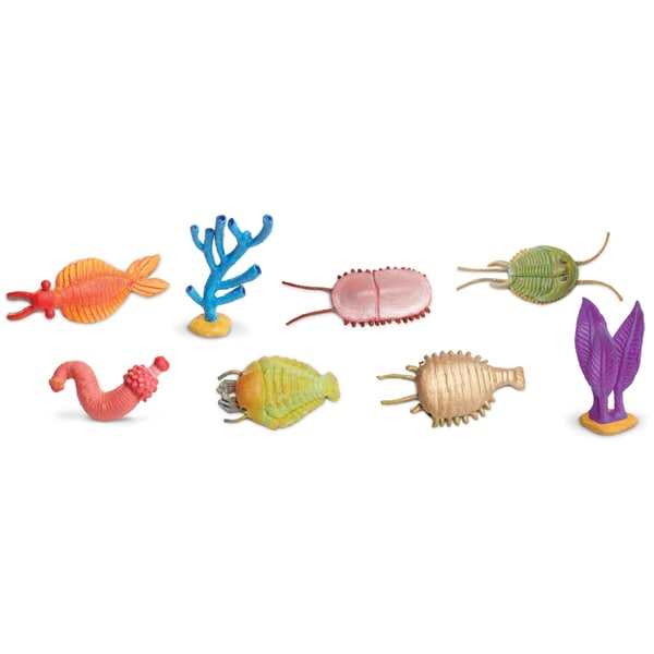 Plastic Miniatures In Toobs-Cambrian Life