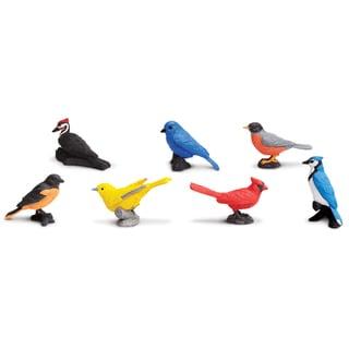 Plastic Miniatures In Toobs-Backyard Birds